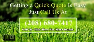 free quote from Turfco