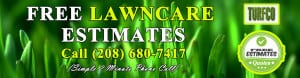 free lawn care estimates from Turfco